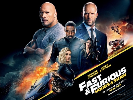 Film picture: Fast & Furious: Hobbs & Shaw