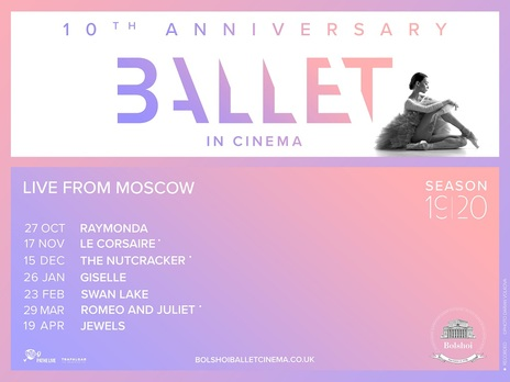 Film picture: Bolshoi Ballet: Swan Lake (Live)
