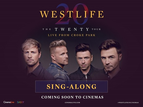 Film picture: Westlife: The Twenty Tour Sing-Along