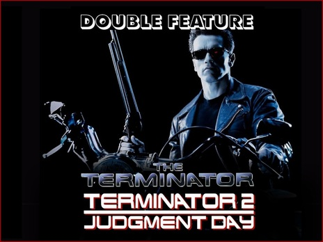 Film picture: The Terminator / Terminator II: Judgement Day Double Bill.