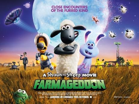Film picture: Shaun The Sheep Movie: Farmageddon