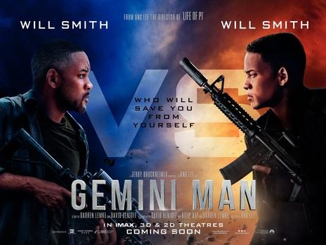 Film picture: (3D) Gemini Man (High Frame Rate)