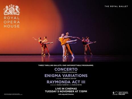 Film picture: ROH - Concerto/Enigma Variations/Raymonda Act III (Live)