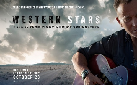 Film picture: Western Stars (with recorded Bruce Springsteen Q&A)