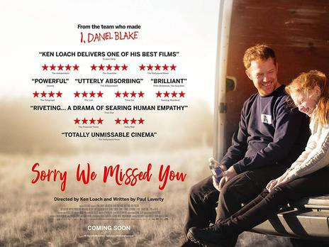 Film picture: Sorry We Missed You Preview + Satellite Q&A
