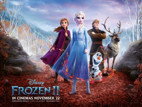 Film picture: 3D Frozen 2