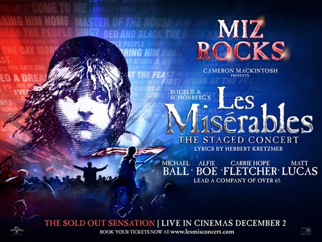 Film picture: Les Miserables: The Staged Concert