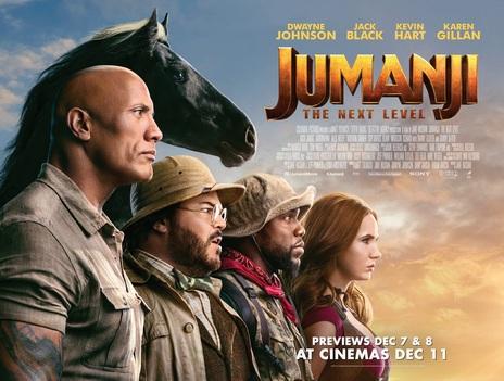 Film picture: 3D Jumanji: The Next Level