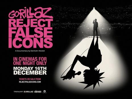 Film picture: GORILLAZ: REJECT FALSE ICONS