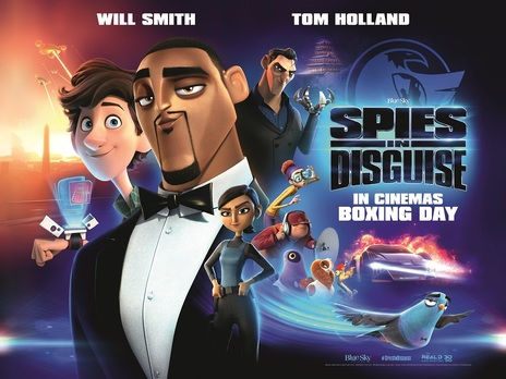 Film picture: 3D Spies In Disguise
