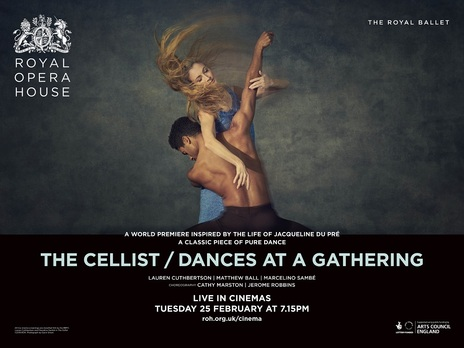 Film picture: ROH - The Cellist / Dances At A Gathering World Premieres (Live)