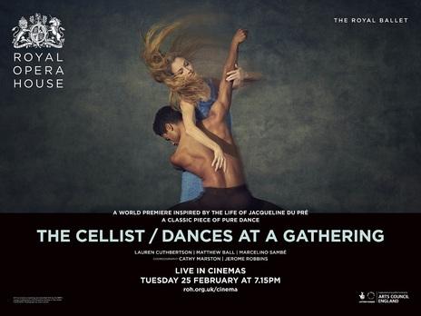 Film picture: ROH - The Cellist / Dances At A Gathering World Premieres (Live)