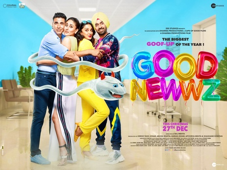 Film picture: Good Newwz