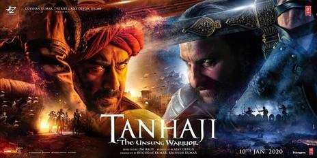 Film picture: Tanhaji: The Unsung Warrior