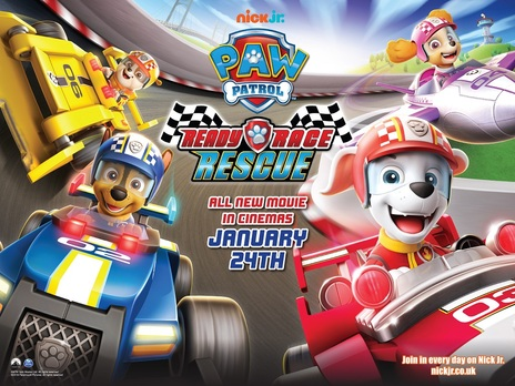 Film picture: Paw Patrol: Ready, Race, Rescue