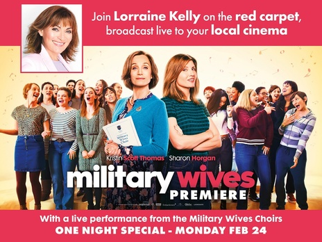 Film picture: Military Wives - Special Premiere Event