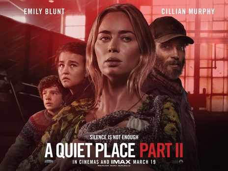 Film picture: (IMAX) A Quiet Place: Part II