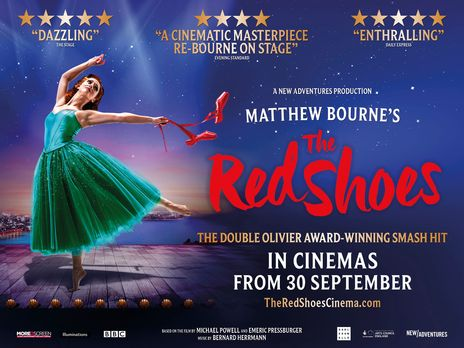 Film picture: Matthew Bournes The Red Shoes 2020