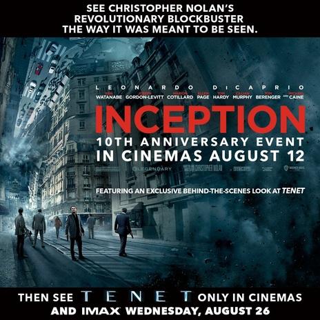 Film picture: Inception: 10th Anniversary