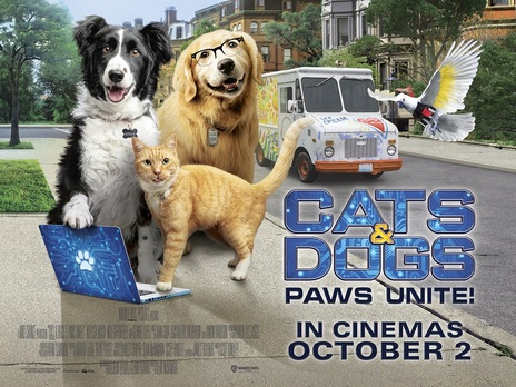 Film picture: Cats & Dogs: Paws Unite!