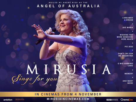 Film picture: Mirusia Sings For You