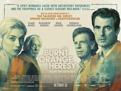 Film picture: The Burnt Orange Heresy