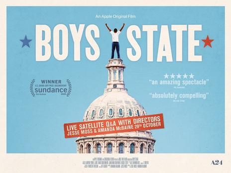 Film picture: Boys State plus Live Satellite Q&A