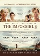 A powerful story based on one family�s survival of the 2004 tsunami, THE IMPOSSIBLE comes to Cinemas Jan 4th 2013.