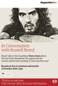 Guardian Live: In Conversation With Russell Brand