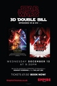 Star Wars - 3D Double Bill - EPISODES VII & VIII
