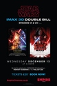 Star Wars - IMAX 3D Double Bill - EPISODES VII & VIII