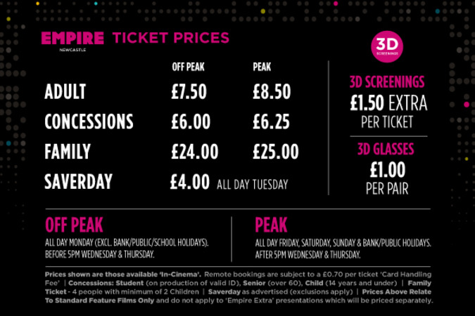 Empire cinemas newcastle book tickets in keshari