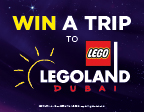 BOOK ONLINE FOR A CHANCE TO WIN WITH THE LEGO MOVIE 2