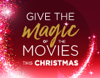 Give The Magic Of The Movies This Christmas!