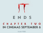 BOOK ONLINE FOR A CHANCE TO WIN WITH IT CHAPTER TWO