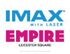 IMAX LAUNCHES NEW LASER SYSTEM AT ICONIC EMPIRE LEICESTER SQUARE