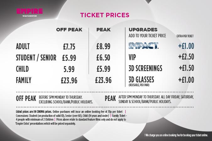Movie Showtimes & Tickets Online | Showcase Cinemas